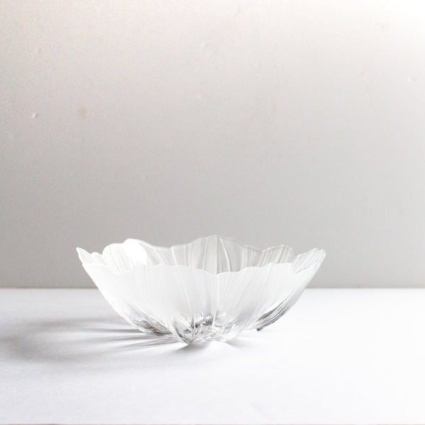 Frosted glass bowl | Sold on www.madamedelamaison.com
