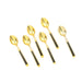 Set of antique gold and black teaspoons | Sold on www.madamedelamaison.com