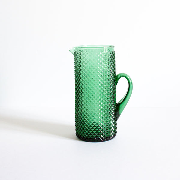 Antique green pitcher | Sold on Madame de la Maison