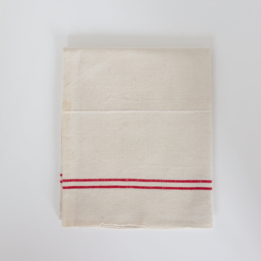 Antique kitchen towels from Madame de la Maison