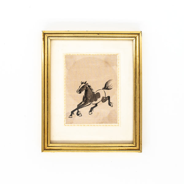Antique horse print | Sold on www.madamedelamaison.com
