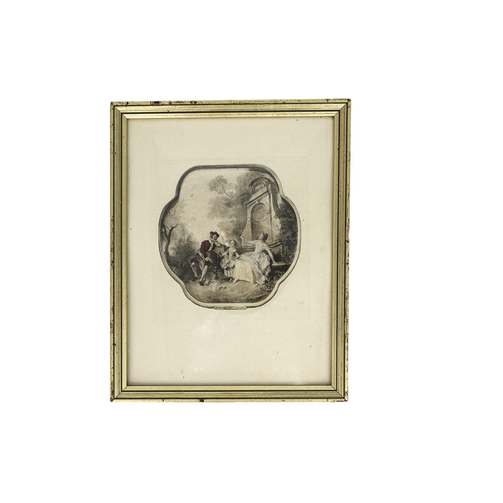 "Framed Nicolas Lancret ""L'Innocence"" Print 