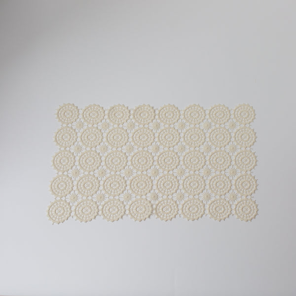 Lace Placemat from Madame de la Maison