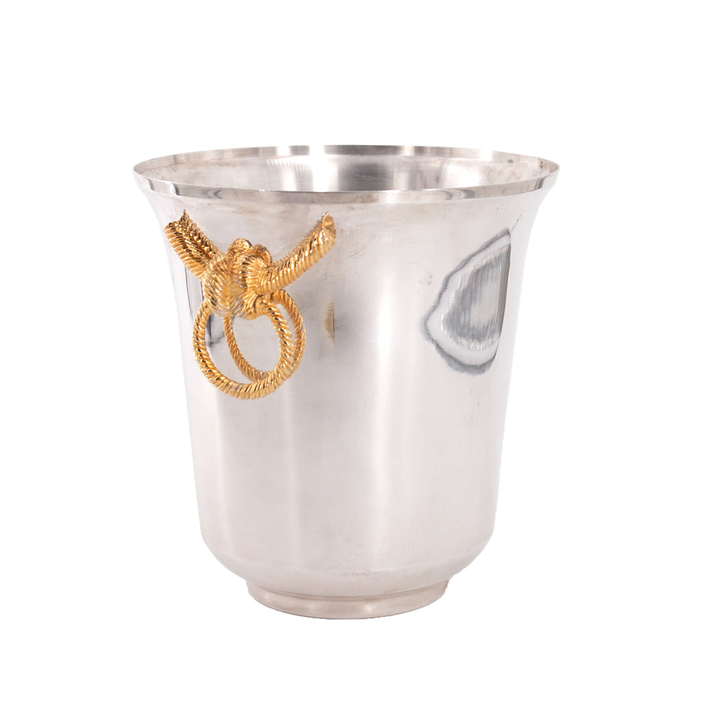 Antique Lancel champagne bucket | sold on www.madamedelamaison.com