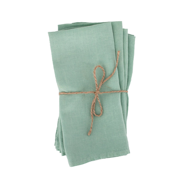 Mint napkins from Paris | sold on www.madamedelamaison.com