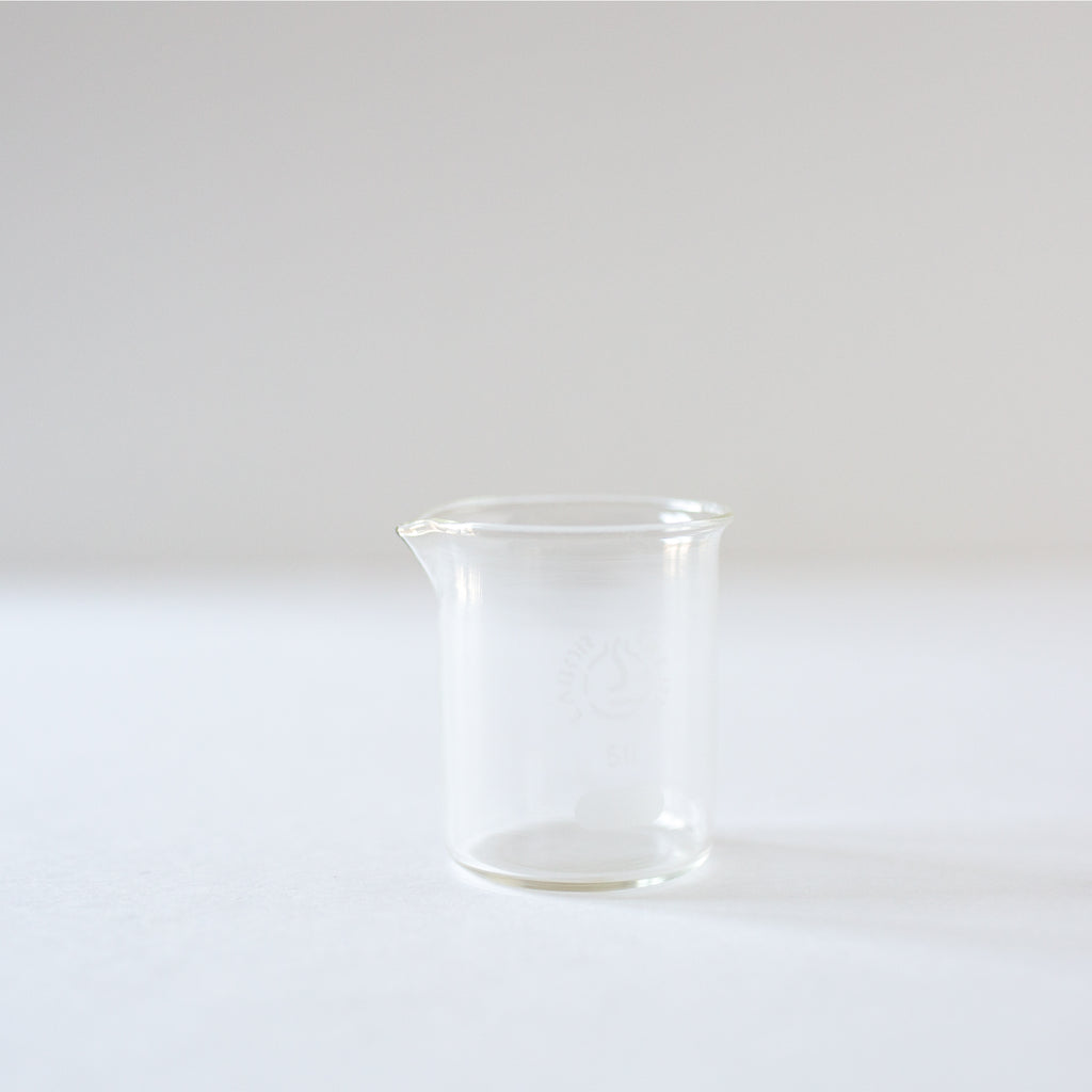 Antique lab glass beaker from Madame de la Maison