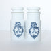 Antique opaline jars sold on Madame de la Maison