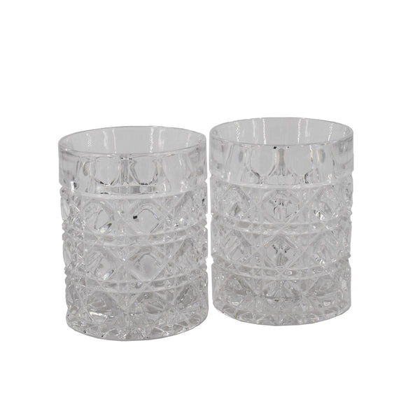 Crystal whiskey glasses sold on www.madamedelamaison.com