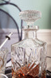 Beautiful antique cut crystal decanter sold on www.madamedelamaison.com