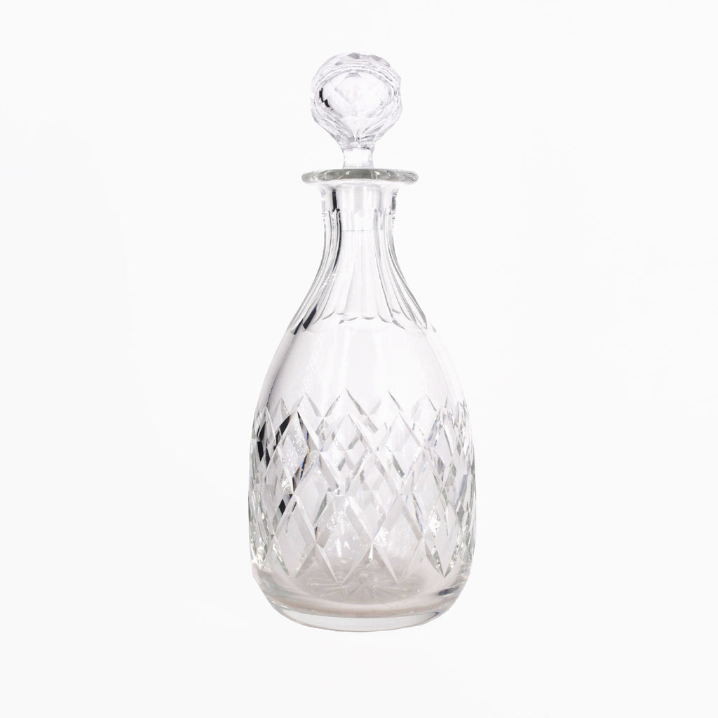 cut crystal wine decanter | Sold on www.madamedelamaison.com