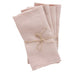 Rose linen napkins from Madame de la Maison