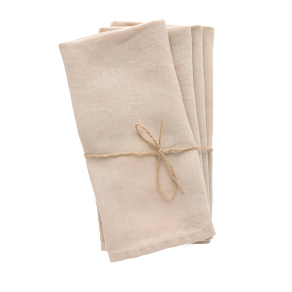 Sable linen napkins from Madame de la Maison