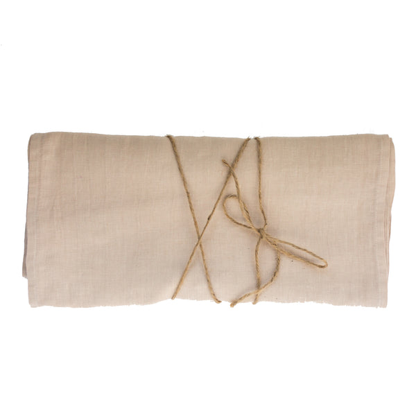 Sample Sale Sable Linen Runner