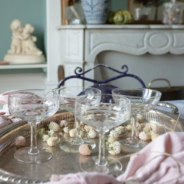 Antique Mix and Match Coupes Sold on Madame de la Maison