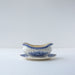 Antique Vintage Blue and White Villeroy & Boch Burgenland Gravy Boat sold on Madame de la Maison www.madamedelamaison.com