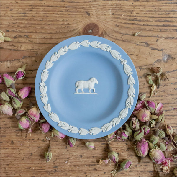 Wedgwood Aries Jasperware Pin Dish