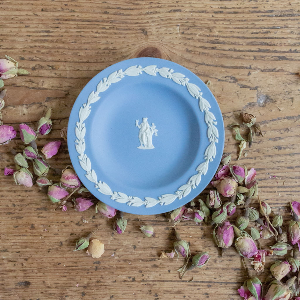 Wedgwood Virgo Jasperware Pin Dish