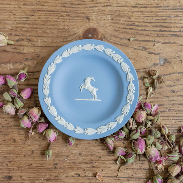 Wedgwood Capricorn Jasperware Pin Dish