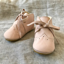 Vintage Oxford Bootie | Blush Leather