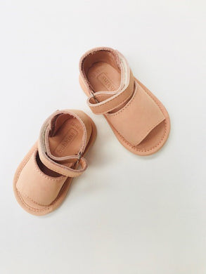 Anais Sandal | Shell Smooth Leather