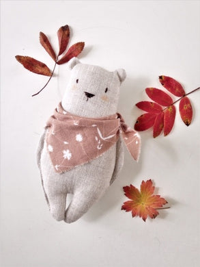 Linen Bear Friend | Assorted Colours