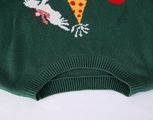Eumerce Men's Ugly Christmas Sweater - Happy Birthday Jesus Sweater Green