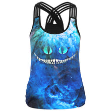 Eumerce Women Digital Printed Tank Tops Sleeveless T shirt Vest Twenty Colors
