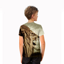 Eumerce Child's Short Sleeve 3D Printing T-Shirt Summer Unisex