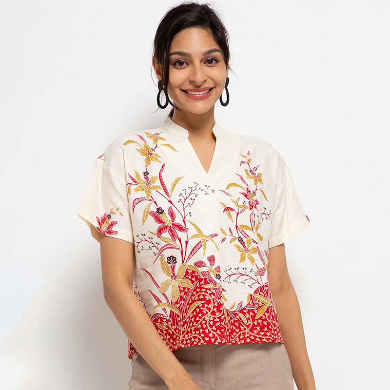 Blouse Teona Batik MR