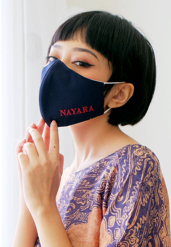 1Pcs Masker Ventilator Exclusive Navy by Nayara