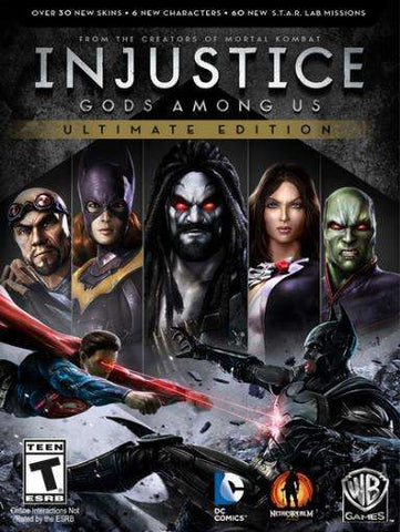 Injustice: Gods Among Us (Ultimate Edition)-Oyun-Oyun Al u0130ndir
