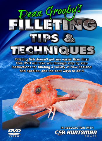 Filleting Tips & Techniques DVD