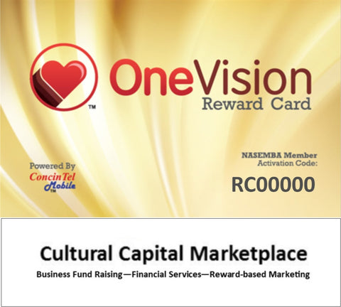 Stage 1 - One Vision Reward Card