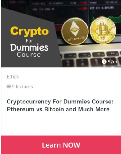 Cryptocurrency For Dummies Course: Ethereum vs Bitcoin and Much More