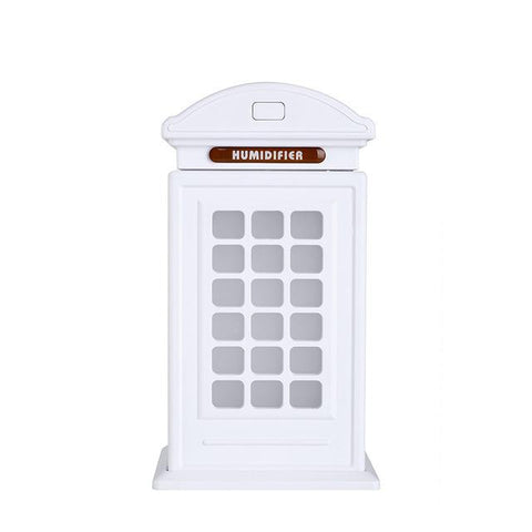 Aromatherapy Essential Oil Diffuser with LED Light Telephone Booth - Chilling Outdoors