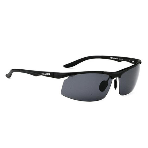 Men's Aluminum Polarized  Sports Sunglasses - Chilling Outdoors