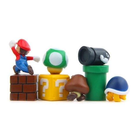 3D Mario Fridge Magnets - Chilling Outdoors