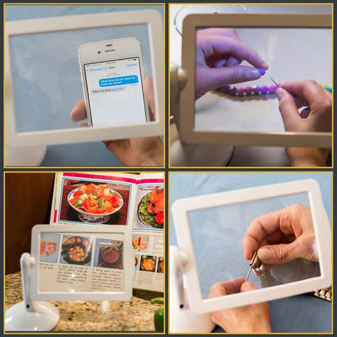 MaMagnify - The innovative LED magnifying glass!