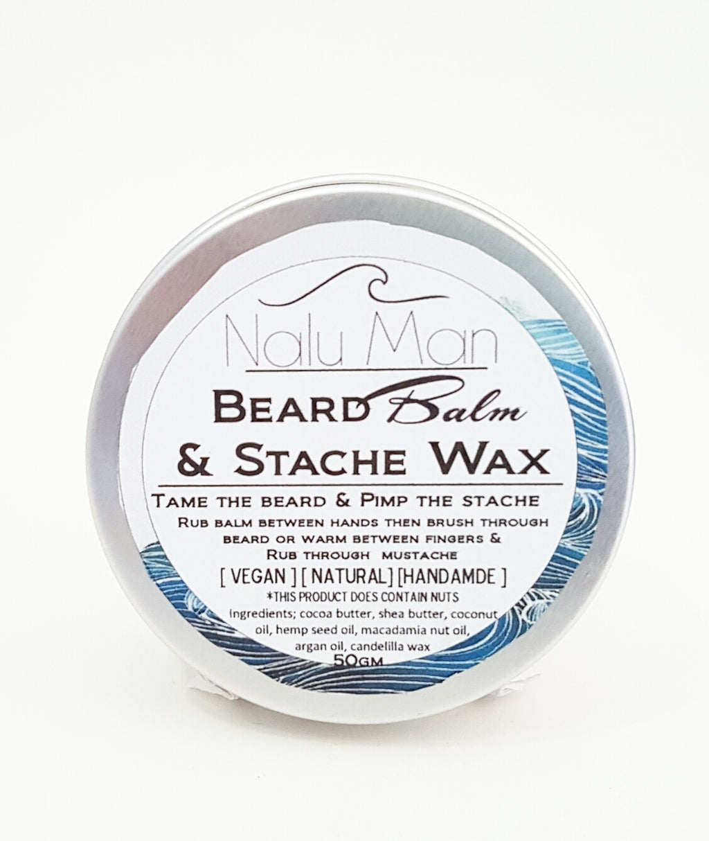 Beard Balm & Stache Wax