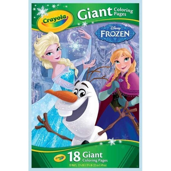 Crayola - Giant Coloring Pages Disney Frozen – Give Socially