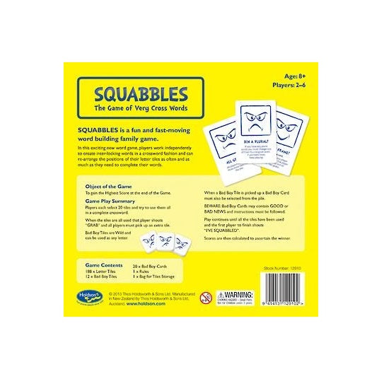 Squabbles crossword