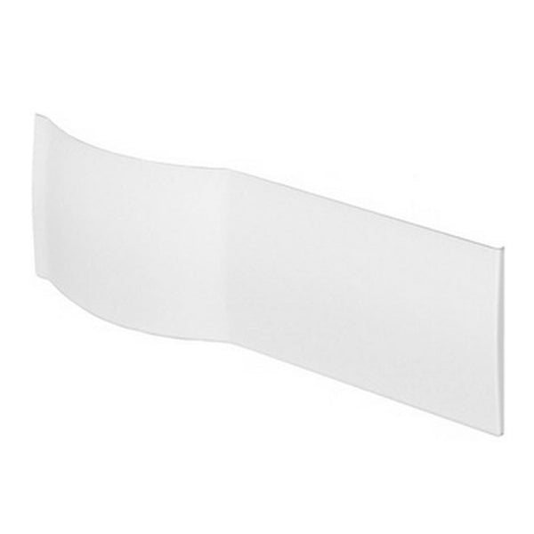 Allure 1500 P Shape Front Panel - White