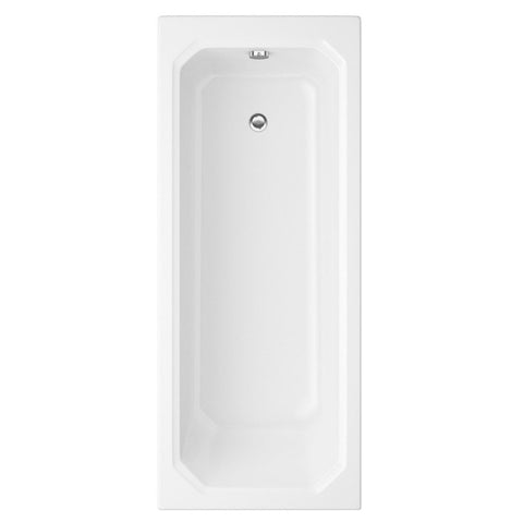Artistic 1800 x 800mm Traditional Design Bath - Single Ended White