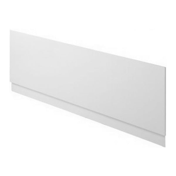 Secure Reinforced 1700mm Bath Front Panel - White