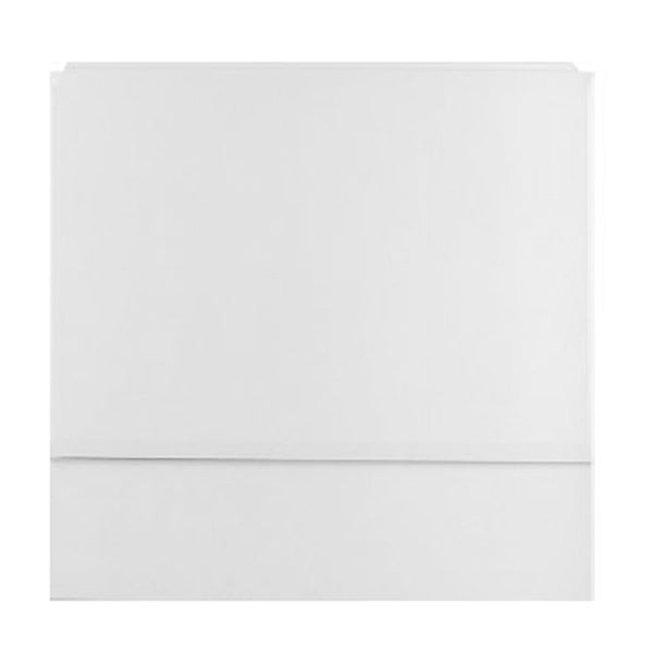 Secure Reinforced 800mm Bath End Panel - White