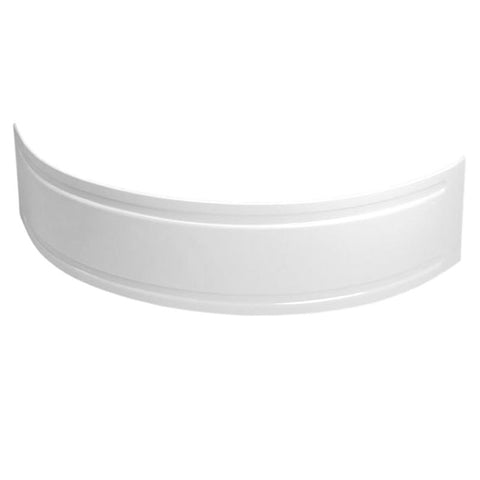Lagoon Corner Bath Panel - White
