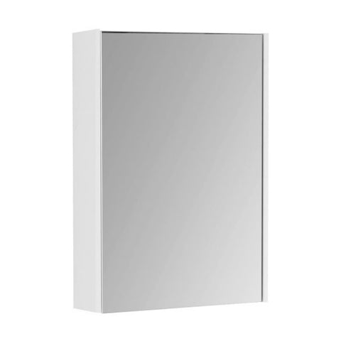 Joy 550mm Wall Mounted Mirror Bathroom Cabinet - White