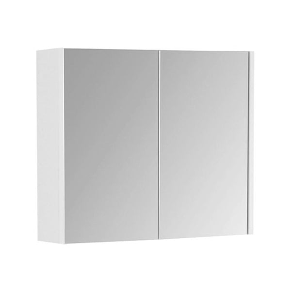 Fortune 550mm Wall Mounted Mirror Bathroom Cabinet - White