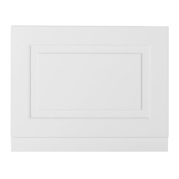 Artistic 800mm Bath End Panel - Matt White
