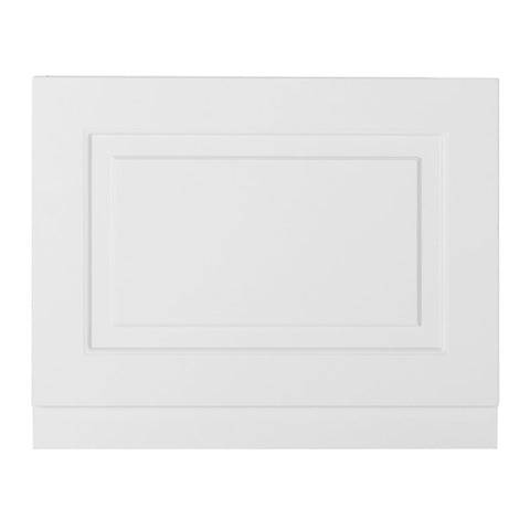 Artistic 700mm Bath End Panel - Matt White
